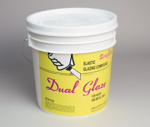 1 Gallon Bucket of Sarco Dual Glaze Putty