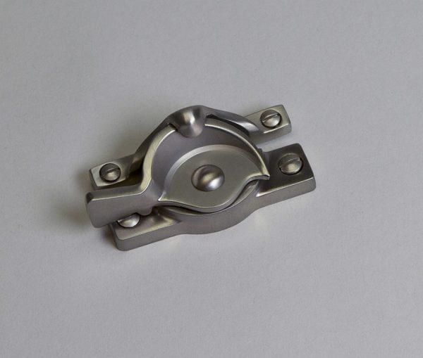 SRS Hardware Satin Nickel Lock Closed