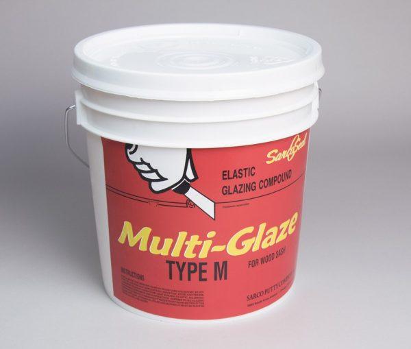 1 Gallon Bucket of Sarco Multi-Glaze, Type M Putty
