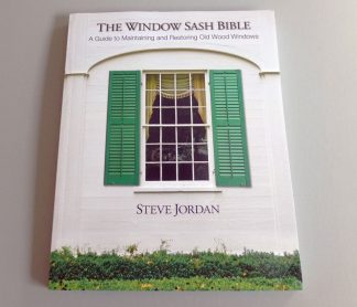 Window Sash Restoration and Repair Books